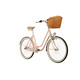 "Creme Molly Citybike Damer 26"" 3-speed pink"